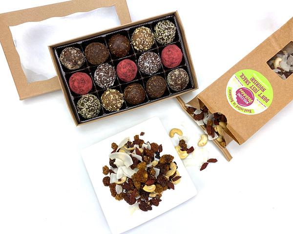 vegan-gift-basket-truffles-trail-mix