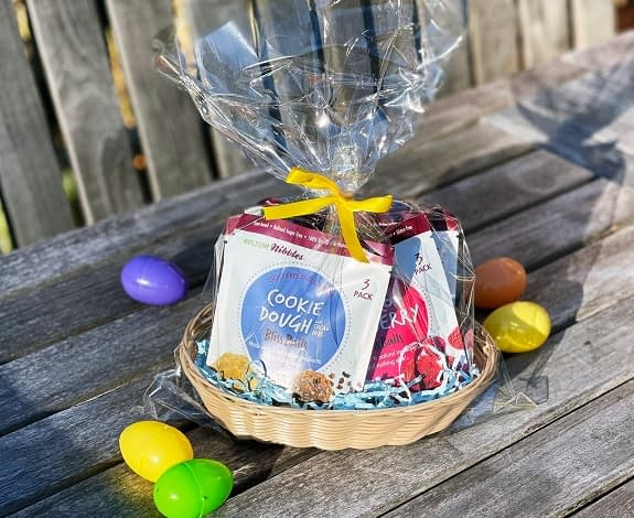 easter basket healthy candy gift vegan