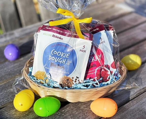 easter basket vegan gift